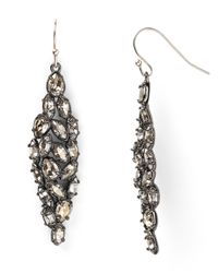 Alexis Bittar | Metallic Marquise Crystal Earrings | Lyst