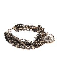 Beth Orduna | Metallic Multichain Bracelet | Lyst