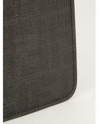Fendi Black Zucca Ipad Case