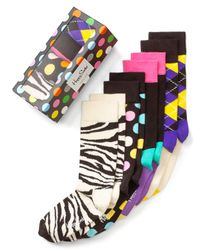 Happy Socks Multicolor Holiday Box Set Pack Of 4