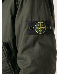 Stone Island Natural Bomber Jacket for men