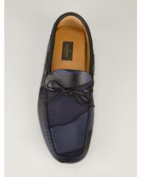 Valentino Blue Printed Loafer for men