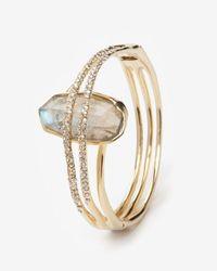 Alexis Bittar | Metallic Fancy Labradorite Orbiting Bracelet | Lyst