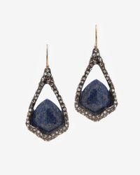 Alexis Bittar | Metallic Lapis Drop Earring | Lyst