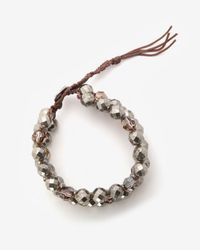 Chan Luu - Metallic Pyrite Bead Bracelet - Lyst