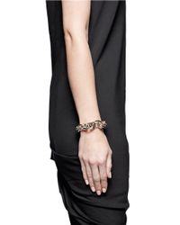 Givenchy | Metallic Layered Chain Bracelet | Lyst