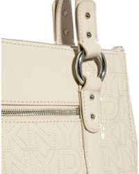 DKNY Active - Natural Quilted Logo Tote Bag - Lyst
