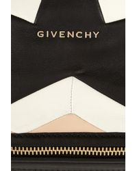 Givenchy Black Medium Pandora Bag in Patchwork Nappa Leather