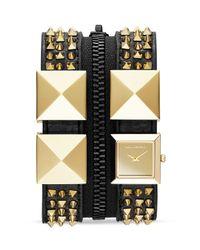 Karl Lagerfeld Metallic Exclusive Karl 3 Zip Watch 175mm