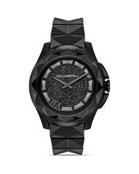 Karl Lagerfeld Black Karl 7 Ceramic Bracelet Watch 435mm