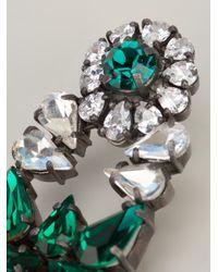 Shourouk Green Roma Earrings