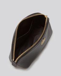 Tory Burch Black Cosmetic Case Robinson Small