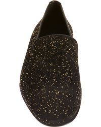 Alberto Moretti - Metallic Gold Bit Loafer for Men - Lyst