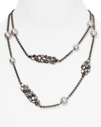 Alexis Bittar - Metallic Nova Station Necklace 40 - Lyst