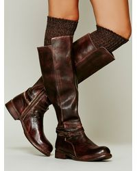 Bed Stu - Brown Bonnor Tall Boot - Lyst