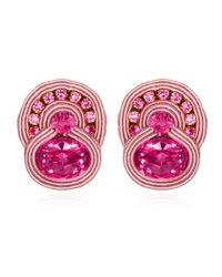 Dori Csengeri | Folies Pink Stud Earrings | Lyst