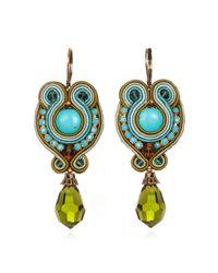 Dori Csengeri | Blue Portofino Earrings | Lyst