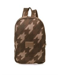 Marc By Marc Jacobs Natural Houndstooth Mesh Backpack for men