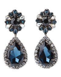 Shourouk Blue Roma Earrings