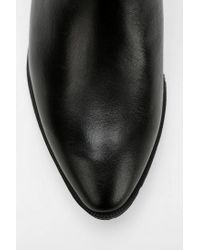 Urban Outfitters Black Circus By Sam Edelman Holt Backstrand Ankle Boot
