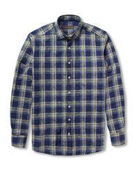 Etro   Gray Paisley Print Shirt for Men   Lyst