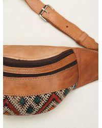 Free People - Brown Hazel Pocket Belt - Lyst