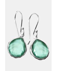 Ippolita | Metallic Wonderland Rainbow Teeny Teardrop Earrings | Lyst