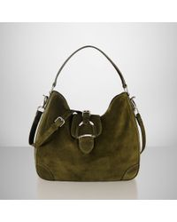 Ralph Lauren. Women s Green Suede Soft Stirrup Hobo. See more Ralph Lauren  Shoulder bags. 17c6778a73185