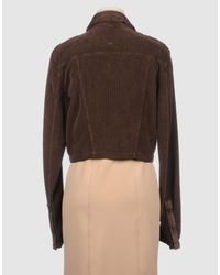 Sportmax Code - Brown Jacket - Lyst