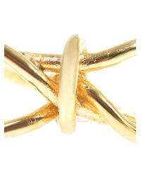 Balenciaga - Yellow Bow Ring - Lyst
