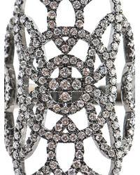 Diane Kordas - Metallic Diamond Gold Arabesque Ring - Lyst