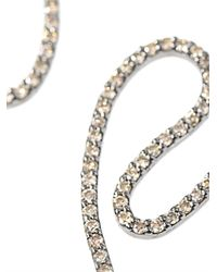 Diane Kordas - Metallic Diamond Gold Open Swirl Earrings - Lyst