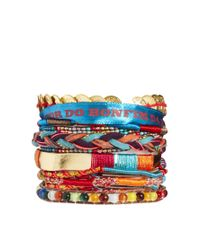 Hipanema Red Aztec Bracelet