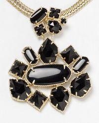Kendra Scott Black Blakely Necklace 16