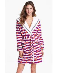 Kensie | Purple Carissa Cozy Robe | Lyst