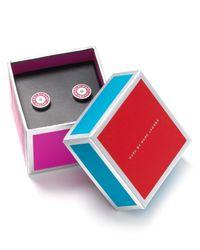 Marc By Marc Jacobs | Pink Stud Earrings | Lyst