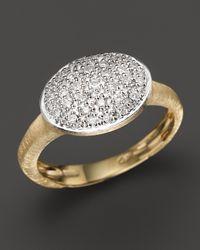 Marco Bicego - Yellow Siviglia Large Diamond Ring - Lyst
