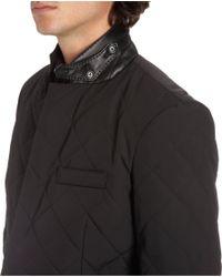 Ralph Lauren Black Label - Black Diamond Quilted Two-button Sport Coat for Men - Lyst