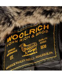 Woolrich - Green Trapper Hat for Men - Lyst