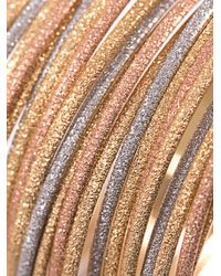 Carolina Bucci - Metallic Lazy Sparkly Gold Bracelet - Lyst