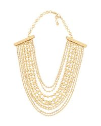 Henri Bendel - Metallic No7 Short Layered Necklace - Lyst
