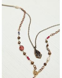 N/a | Brown Double Layer Rosary | Lyst