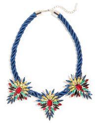 BaubleBar - Black Mohawk Collar - Lyst