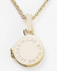Marc By Marc Jacobs Natural Locket Necklace