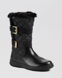 MICHAEL Michael Kors | Black Cold Weather Boots Aaran | Lyst