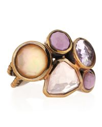 Stephen Dweck | Pink Mixed Stone Cluster Ring Size 7 7 | Lyst