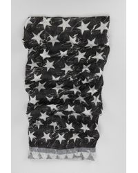 Urban Outfitters Black Uo Americana Flag Scarf for men