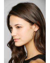 Urban Outfitters - Metallic Adina Reyter Medium Square Hoop Earrings - Lyst