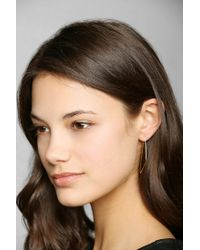 Urban Outfitters - Metallic Adina Reyter Right Angle Hoop Earrings - Lyst