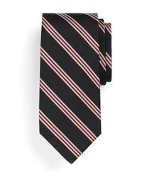 Brooks Brothers - Black Mini Bb#1 Repp Tie for Men - Lyst